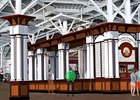 Artist's rendering of Saratoga Race Course grandstand Carousel renovation.