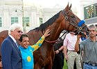 "American Pharoah<br><a target=""blank"" href=""http://photos.bloodhorse.com/AtTheRaces-1/At-the-Races-2015/i-mt3Z5wt"">Order This Photo</a>"