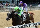 "Moment Is Right won the Astoria Stakes at Belmont by 1 1/2 lengths on June 4.<br><a target=""blank"" href=""http://photos.bloodhorse.com/AtTheRaces-1/At-the-Races-2015/i-GDCHn8g"">Order This Photo</a>"