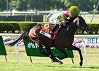 "Slumber came home strong to win the Knob Creek Manhattan Stakes.<br><a target=""blank"" href=""http://photos.bloodhorse.com/AtTheRaces-1/At-the-Races-2015/i-vcNNhtV"">Order This Photo</a>"