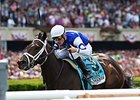 "Tepin has compiled a 3-2-0 record in five 2015 outings.<br><a target=""blank"" href=""http://photos.bloodhorse.com/AtTheRaces-1/At-the-Races-2015/i-sRVbtCH"">Order This Photo</a>"