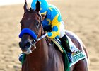 (June 6, 2015) American Pharoah, Victor Espinoza up, becomes the 12th Triple Crown winner... © 2015 Rick Samuels/The Blood-Horse