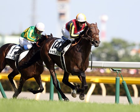 Sunday Racing's Japanese Guineas winner Duramente secured his second classic victory in style, winning the Tokyo Yushun (Jpn-I, Japanese Derby) in stakes-record time.