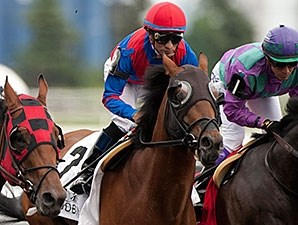 Are You Kidding Me wins the Eclipse Stakes.