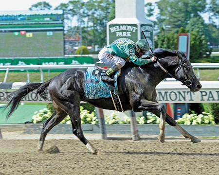 Honor Code turned on the afterburners and flew home in the $1.25 million Metropolitan Handicap (gr. I) at Belmont Park, with last year's Belmont Stakes (gr. I) winner Tonalist getting up for second while favored at 8-5.
