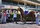 The happy winner's circle after Flutterby's win.