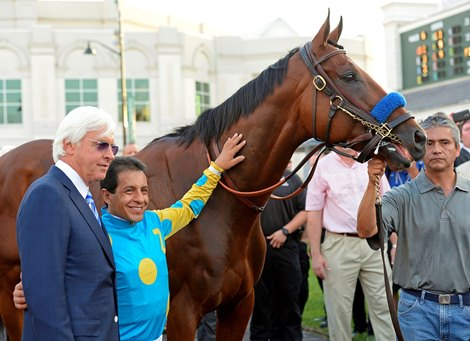 Hall of Famer American Pharoah Dazzled Baffert