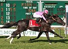 Triple Threat won the Monmouth Stakes (gr. IIT) in his North American bow June 7.
