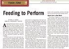 Trade Zone: Feeding to Perform
