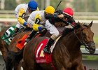 Shaman Ghost won the Queen's Plate by 1 1/4 lengths July 5.