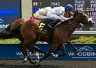 Caren takes the Shady Well Stakes at Woodbine.