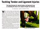 Trade Zone: Tendon and Ligament Injuries