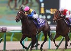 Lovely Day wins the Takarazuka Kinen.