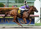Dogwood Trail wins the Azalea Stakes.
