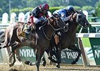 "Effinex outfights Tonalist to take the Suburban Handicap.<b><a target=""blank"" href=""http://photos.bloodhorse.com/AtTheRaces-1/At-the-Races-2015/i-9qg5gxw"">Order This Photo</a>"