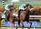 Merry Meadow wins the Princess Rooney Stakes.