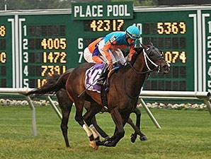 I'm Already Sexy wins the 2015 Eatontown Stakes.
