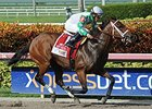 Favorite Tale wins the Smile Sprint Stakes.