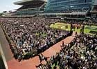 Virus Outbreak Does Little to Spoil Melbourne Cup