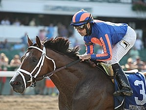 Stanford dominates the Long Branch Stakes at Monmouth Park.