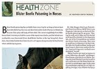 Health Zone: Blister Beetle Poisoning