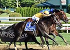 "Rock Fall won the Vanderbilt Handicap (gr. I) Aug. 1 by a nose.<br><a target=""blank"" href=""http://photos.bloodhorse.com/AtTheRaces-1/At-the-Races-2015/i-njQH5xk"">Order This Photo</a>"