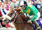Madefromlucky and Joe Bravo take the West Virginia Derby.