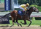 Rachel's Valentina wins race 2 at Saratoga August 2.