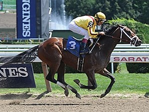 Rachel's Valentina: Sire and dam were Saratoga grade I winners