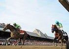 "3.4 million watched the Travers on NBC.<br><a target=""blank"" href=""http://photos.bloodhorse.com/AtTheRaces-1/At-the-Races-2015/i-dv64mLf"">Order This Photo</a>"