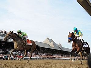 American Pharoah's Travers loss was his first defeat of the year