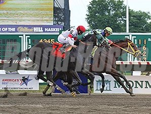 Wildcat Red wins the Teddy Drone Stakes.