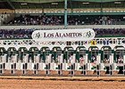 Los Alamitos Race Course will pick up three weeks of racing -- between April 14 and May 1.