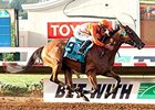 Beholder wins the Pacific Classic.