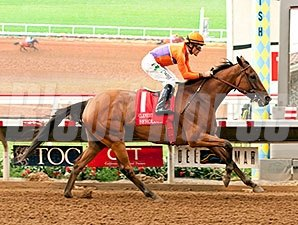 Beholder dominates the Clement L. Hirsch Stakes at Del Mar