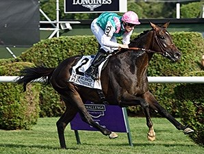 Flintshire wins the 2015 Sword Dancer.