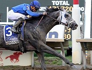 Frosted delivers victory in the Pennsylvania Derby.
