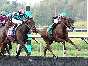 Florida Won takes the win in the Presque Isle Mile.