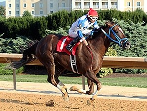 Russell Road wins the Roger Ramey Handicap.