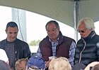 Justin Zayat (left) Ahmed Zayat (center) and Bob Baffert will recount their thoughts about the Triple Crown.