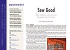 Southwest Regional: Sew Good