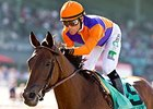 Beholder won Zenyatta Stakes in her last start