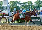 "American Pharoah<br><a target=""blank"" href=""http://photos.bloodhorse.com/TripleCrown/2015-Triple-Crown/Belmont-Stakes-147/i-prWMjgg"">Order This Photo</a>"