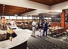 An artist's rendering of the Stakes Room at Churchill Downs.