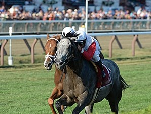 Ironicus wins the Bernard Baruch Handicap.