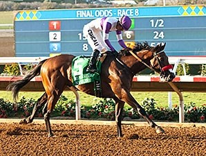 Nyquist wins the Del Mar Futurity.