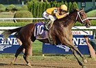 Cavorting wins the Prioress Stakes.