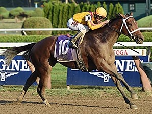 Test Stakes winner Cavorting wins the six-furlong Prioress Sept. 6