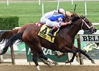 Sudden Surprise wins the Bertram F. Bongard Stakes.
