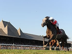Ironicus wins Sept. 7 Bernard Baruch Handicap in course-record time